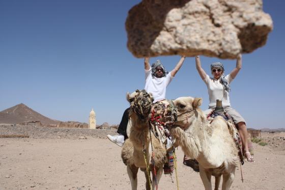 Tuksnesī pie beduīniem.