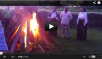 """VIDEO: Saulgriežu svinēšana ar folkloras kopu """"Savieši"""""""
